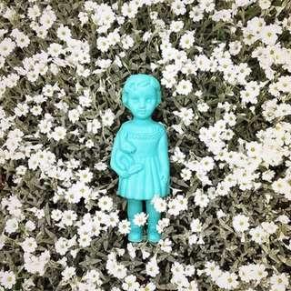 🚚 BN Baby DeiDei Clonette Doll in Blue