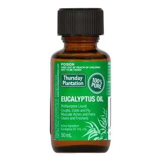 🚚 [FREE MAIL]Thursday Plantation Eucalyptus Oil 50ml