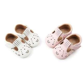 🚚 Baby Girl Breathable Rubber Sole Non-Slip Shoe (NSS 004)
