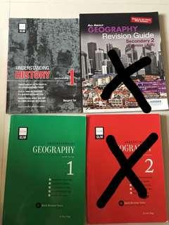 History and geography secondary 1