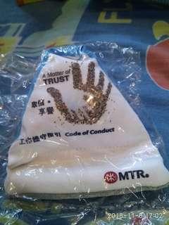 Mtr紀念品 豆袋手機座