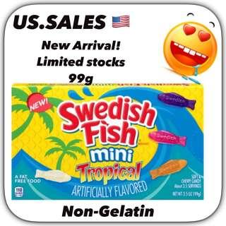 New Arrivals- Swedish Fish Tropical 99g from 🇺🇸