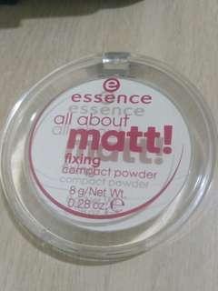 Essence All About Matt! Fixing Compact Powder #JAN55