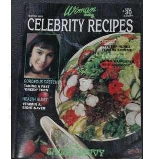 March 1993 Women Today Celebrity Recipe Gretchen Baretto