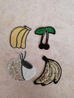 Sew on sequins patch