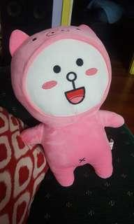 LINE Cony in Pig Costume