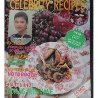 May 1993 Women Today Celebrity Recipe Vina Morales