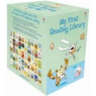 Usborne My First Reading Library Box Set - 50 Books