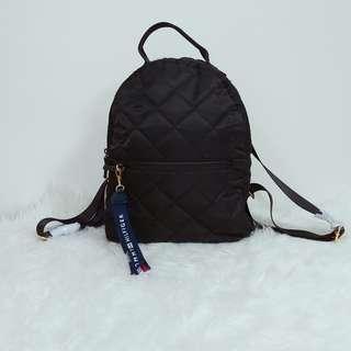 Tommy Hilfiger Backpack Black 輕身黑色帆布背包