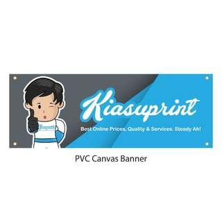 Cheap PVC Banner Printing / Birthday Banner / Idol Banner / Decoration Banner / Large Format Banner Printing In SG