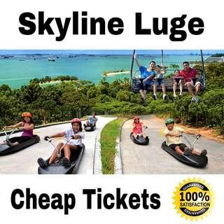Luge And Skyride Cheap Tickets