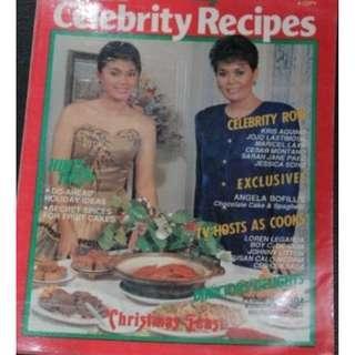Oct-Dec 1989 Women Today Celebrity Recipe Helen Vela/ Princess Punzalan