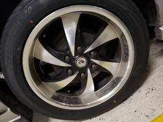 Wheels for Hiace