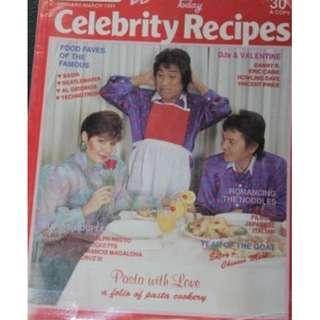 Jan-Mar 1991 Women Today Celebrity Recipe Reycards/ Pilita Corrales