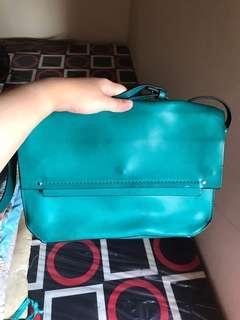 green bag trafaluc /zara