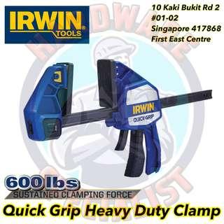 """Irwin Quick Grip 12"""" Heavy Duty One Handed Bar Clamp"""