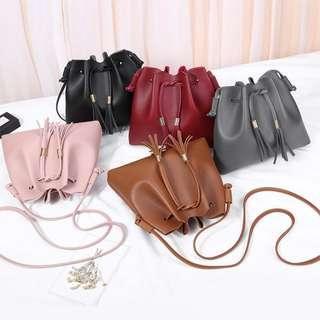 🔴2 for $11🔴Tassel Sling Bags