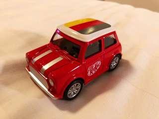 Kitkat limited edition mini car