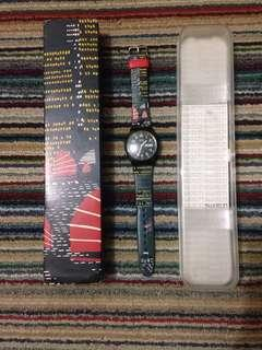 (SOLD) #LetGoCarousell swatch limited edition Spesial hong kong