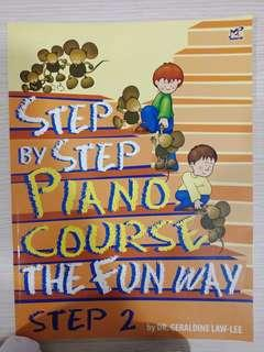Step by step Piano Course Book 2