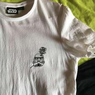 Cotton on Star Wars white tee