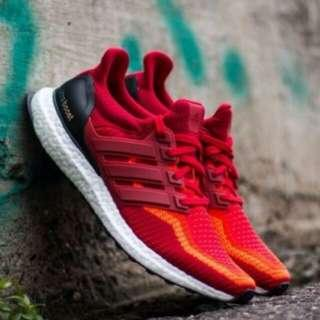 💥PO💥 Adidas Ultra Boost 2.0 Gradient Red