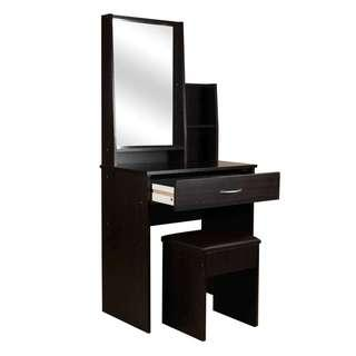 Dressing table with Mirror, Drawer and Stool #1503