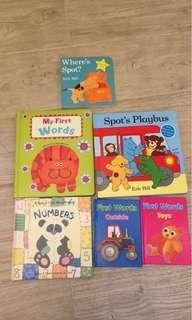 6 books for kids