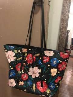 Zara reversible bag