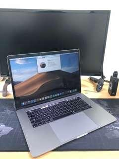 Macbook Pro MLH42 Touch Bar Dual VGA 16GB 512GB 15 inch 2016 FULLSET