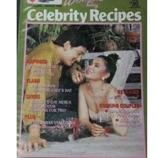 Jan-Mar 1992 Women Today Celebrity Recipe Rudy Fernandez/ Lorna Tolentino