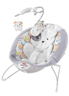 Ready Stock! Brand New Fisher Price Snugapuppy Deluxe Bouncer *Best Christmas Gift*