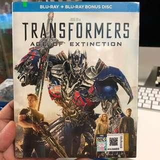 Transformers Age of Extinction Blu Ray