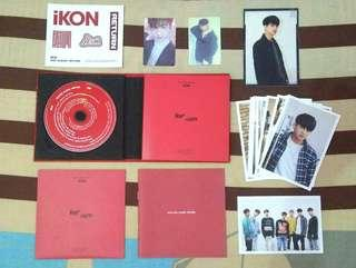 ALBUM iKON RETURN RED VERSION CHANWOO SET