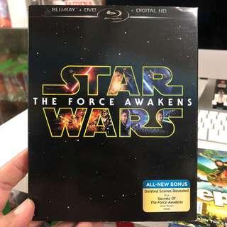 Star Wars The Force Awaken Blu Ray