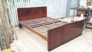 Vintage Teakwood bed frame
