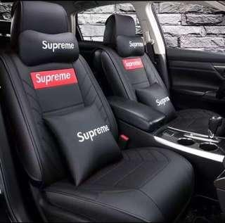 Supreme Car Seat Cover Accessories - Bundle set set available! Ask me now!