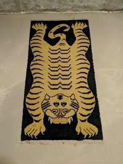 Northern Tibet Tiger Rug