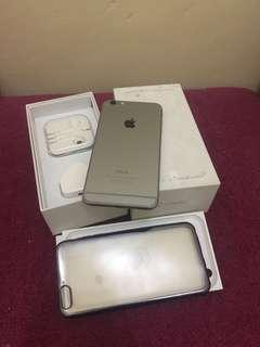Iphone 6 plus 64gb Grey Fullset ex International Silent Cam
