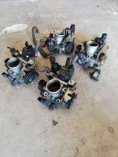 Throttle body untuk kelisa kenari 1st model dan enjin ej L7 na