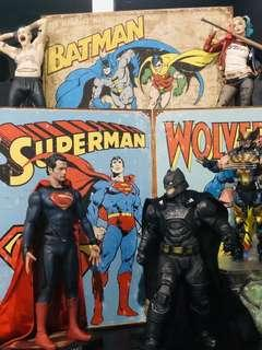 Batman and superman combo
