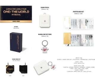 Wanna One World Tour Kihno Photocard