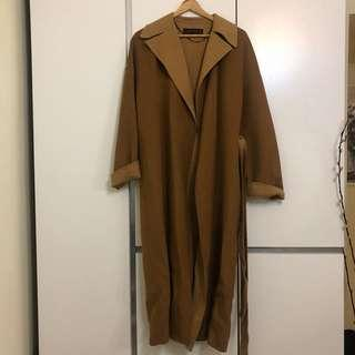 Zara long coat wool