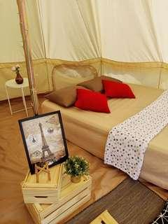 Wowcamp tent/glamping/party/birthday booking service for 4pax