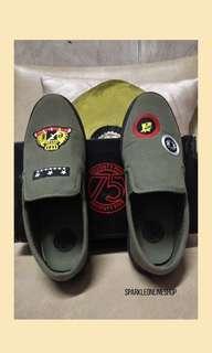 💥✔️✔️ SALE!! Seventy-Five Green Sneakers