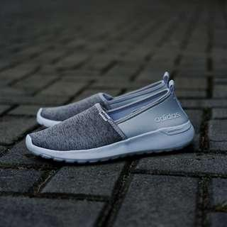 Adidas  Cf slip on grey (BNWB) . Type : Casual . Size :  36,37,38,39,40 . Condition : original BNWB!