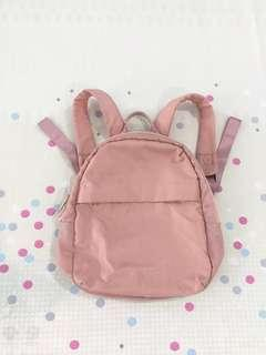 MINISO pink small backpack