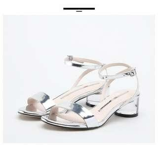STACCATO 2018 Silver 女涼鞋 9O809 ( size 225 /eur36)