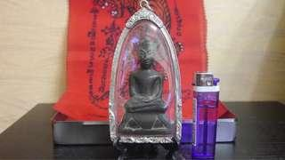 泰國 帕柴古佛像 阿育塔亞時代 供奉尊 非配戴 大陸專業帕柴藏家夠得 包純銀殼保護佛像 請看介紹 可蝦皮