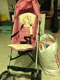 HAUCK Disney princess stroller